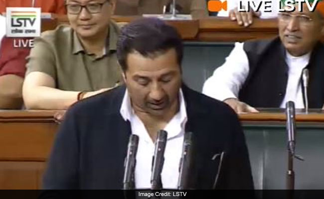 Sukhbir Singh Badal, Sunny Deol Administered Oath In Parliament