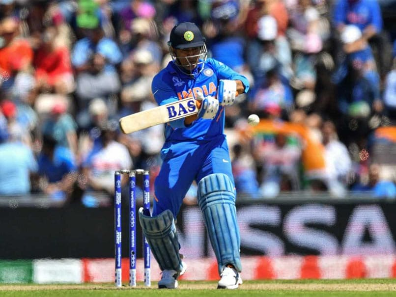 World Cup 2019: MS Dhoni's Sticky Form Temporary And He Will Prove That In Remaining Matches: Sourav Ganguly