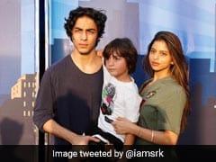 शाहरुख खान ने पोस्ट की आर्यन, सुहाना और अबराम की Photo, बोले- शुगर ऐंड स्पाइस...