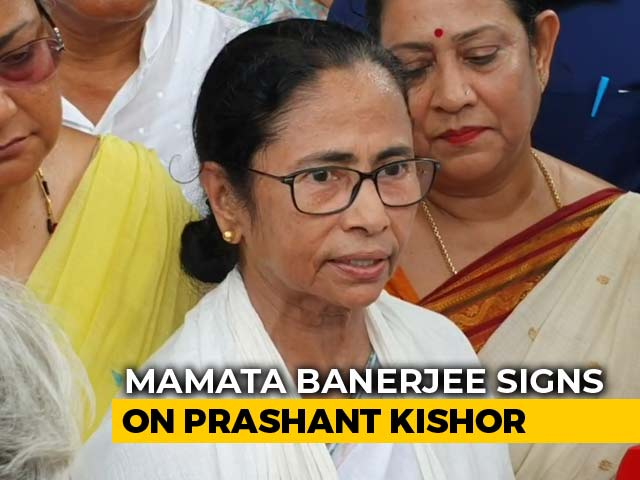 Video : Mamata Banerjee Signs On Prashant Kishor Who Helped Jagan Reddy's Big Win