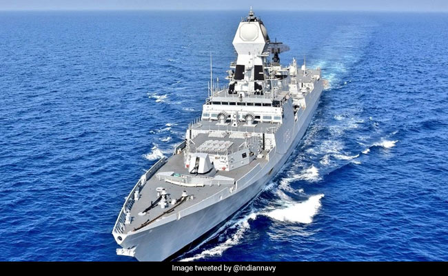 Amid Gulf Tension, Navy Deploys Warship To Ensure Indian Vessels' Safety