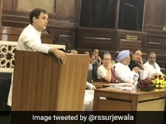 """Will Fight BJP Every Day"": Rahul Gandhi At Parliamentary Party Meet"