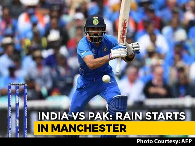 Video : World Cup: Rain Stops Play With India 305/4 In 46.4 Overs