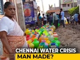 Video : Chennai Water Crisis: Residents Demand Answers