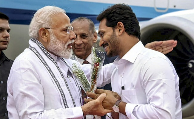 In Tirupati, PM Modi Promises 'All Cooperation' To Jagan Reddy's Andhra