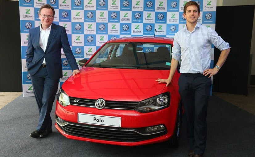 Volkswagen Partners With Zoomcar To Provide Cars For Shared