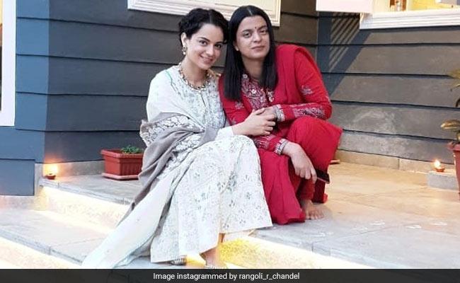 Kangana Ranaut And Rangoli Chandel Are 'Chilling Like Villains' In Manali