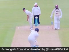 Watch: Arjun Tendulkar Dismisses Surrey 2nd XI Batsman With Raw Pace