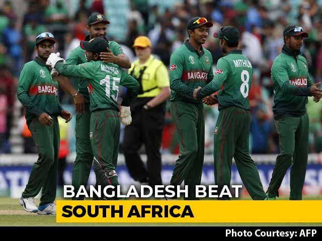 Bangladesh Start World Cup 2019 With South Africa Win