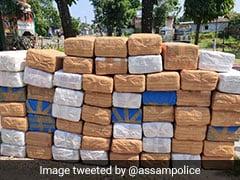 पुलिस को सड़क पर मिला 590 किलो गांजा, ट्विटर पर लिखा- 'घबराइए मत! हमें मिल गया, संपर्क करना हो तो...'