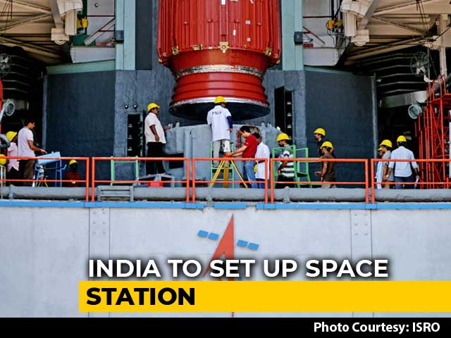 Video : India Planning To Launch Own Space Station, Says ISRO Chief