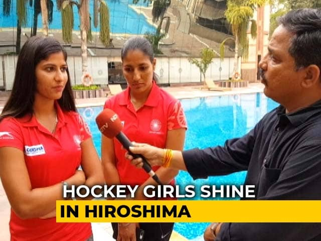 """""""Hard Work Paid Off,"""": Victorious Indian Womens Hockey Team"""