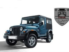 Mahindra Thar Signature Edition Details Leaked; Launch Soon