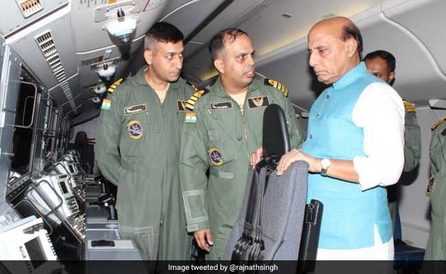 Rajnath Singh Visits Naval Ships, Infra Projects In Andhra Pradesh