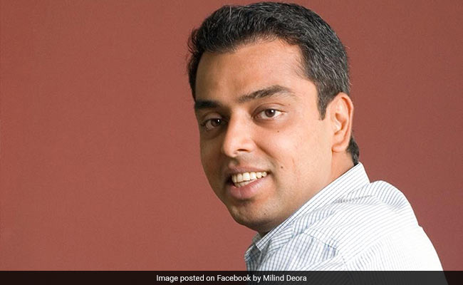 Milind Deora's 'Bullet Train' Dig As He Tweets Devendra Fadnavis On Rain