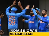 Video : World Cup 2019: India Crush Pakistan To Make It 7 In A Row