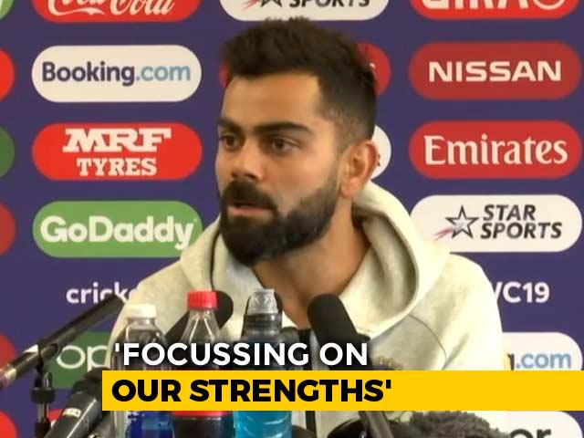 """If We Play Well, Can Beat Anyone"": Virat Kohli Ahead Of Pakistan Clash"