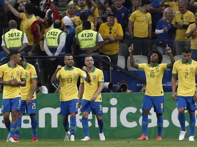 Goalkeeper Gaffe Helps Brazil Trounce Peru To Reach Copa America Quarter Finals