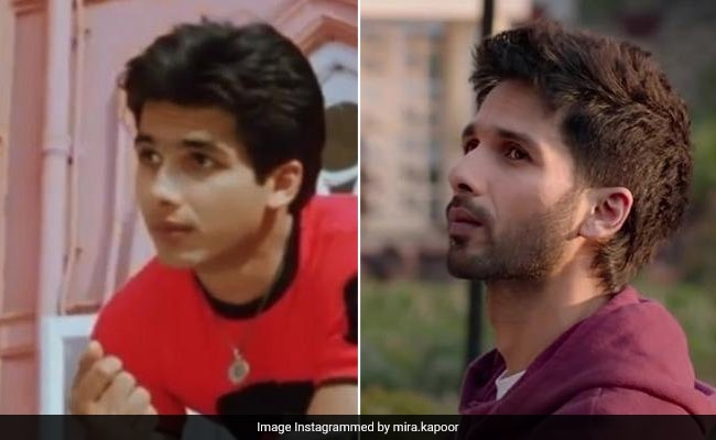 Mira Rajput's Post For Shahid's '16 Year Challenge' Sets The Internet On Fire