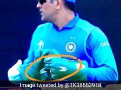World Cup 2019: एमएस धोनी के ग्लव्स में दिखा भारतीय आर्मी का Symbol, फैन्स बोले- 'आप ऐसे क्रिकेटर हैं जो...'