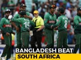 Video : Bangladesh Start World Cup 2019 With South Africa Win