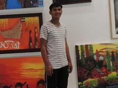 14 साल का भारतीय चित्रकार जिसने दुनिया में बनाई अपनी पहचान