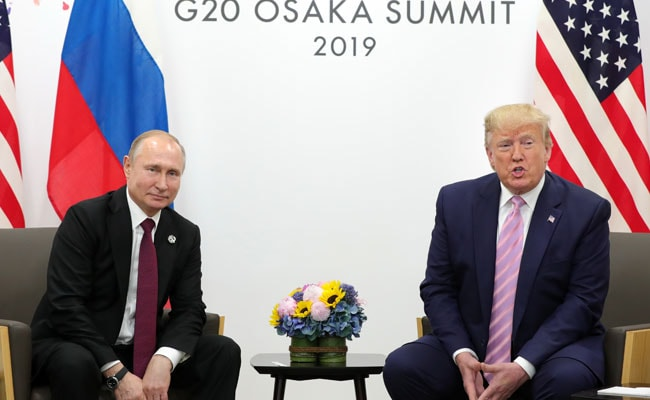 Vladimir Putin Says Russia Will Do All It Can To Improve Ties With US