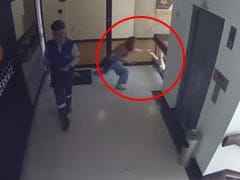 Mother's Incredible Reflexes Save Boy From Falling Off 4th Floor Balcony