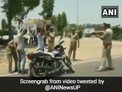 UP Cops' Bizarre Logic As Video Shows Locals Frisked At Gunpoint