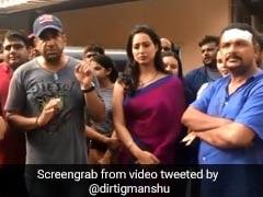 मुंबई में शूटिंग के दौरान गुंडों ने बरपाया कहर, हीरोइन ने भागकर बचाई अपनी जान- देखें Video