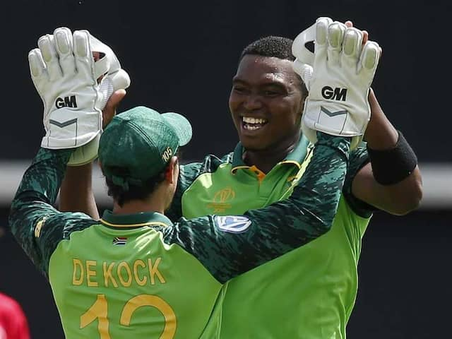 "Lungi Ngidi ""100 Per Cent"" Fit Ahead Of New Zealand Clash"