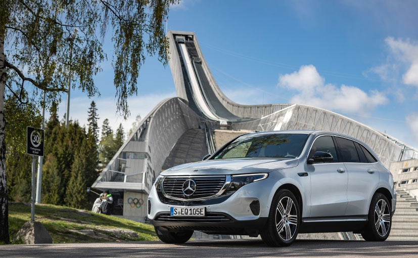 The EQC is Mercedes-Benz's first electric car in its history