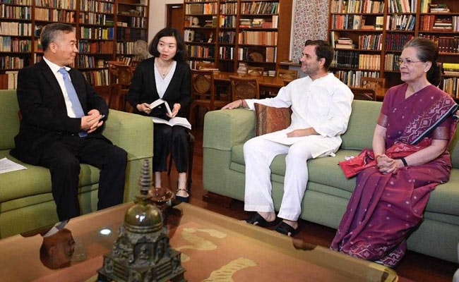 Chinese Delegation Meets Foreign Minister, Gandhis During India Visit