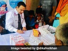 As Encephalitis Deaths Mount, Gorakhpur's Dr Kafeel Khan Reaches Bihar