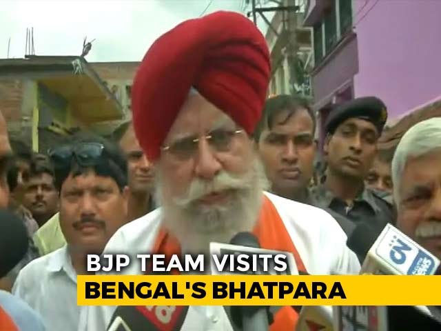 Video : Clashes Again In Bengal's Bhatpara Soon After BJP Team's Visit