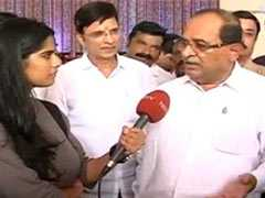 """Ready To Take Any Responsibility..."": Radhakrishna Vikhe Patil To NDTV"