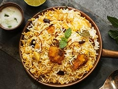Make This Low-Carb, Low-Cal Chicken Biryani With Cauliflower Rice For A Healthy Diet