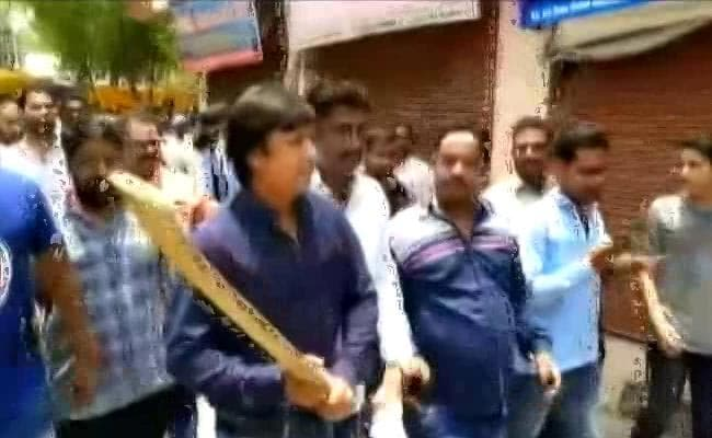 Amit Shah Seeks Report After BJP Lawmaker Hits Official With Cricket Bat