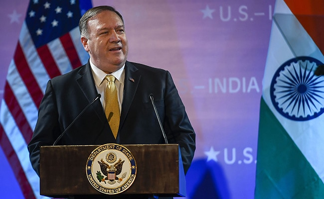 Pompeo criticises China after meeting top diplomat in Bangkok