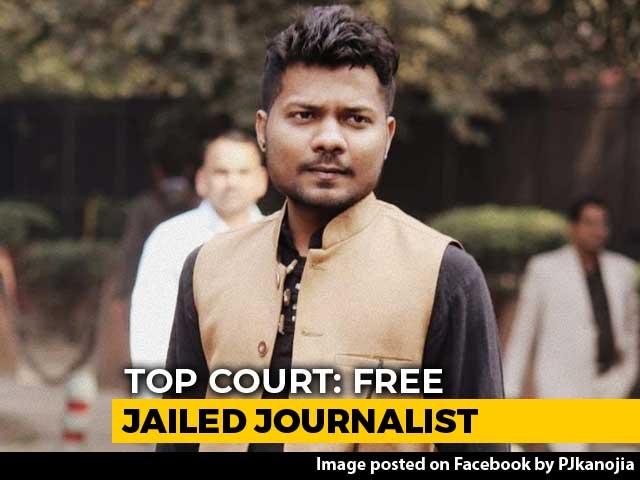 "Video : Free Journalist Jailed For ""Defaming"" Yogi Adityanath: Supreme Court"