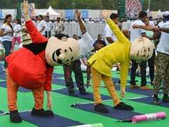 Yoga Day: Cartoon Characters Motu And Patlu Perform Yoga With PM Modi