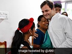 जिस नर्स ने जन्म के समय लिया था गोद, उससे 49 साल बाद कुछ इस तरह मिले राहुल गांधी