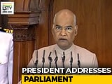 Video : President's Joint Address To Parliament. Watch Full Speech