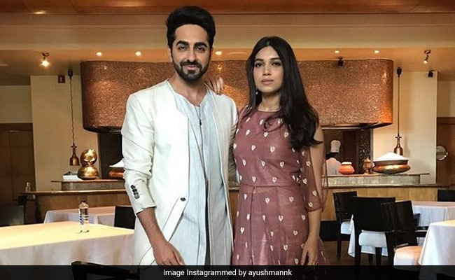 Ayushmann Khurrana Thinks Bhumi Pednekar Is The Biggest 'Diva' He Has Worked With
