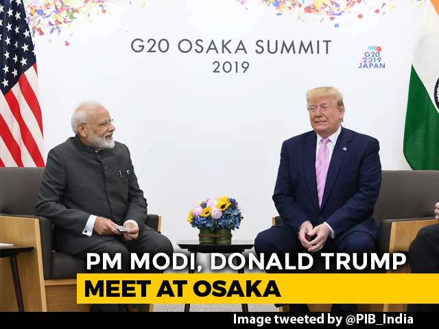 Video : What PM Modi And Donald Trump Talked About On The Sidelines Of G-20 Meet
