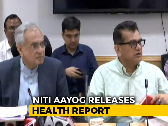 Video : Kerala Best State On Health Parameters, UP Worst: NITI Aayog Report