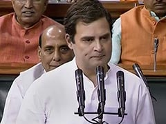 Rahul Gandhi Forgets To Sign After Parliament Oath, Rajnath Singh Prompts