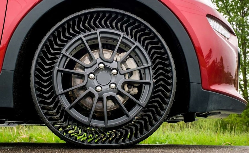 Michelin has been working at making airless tyres for the past five years now