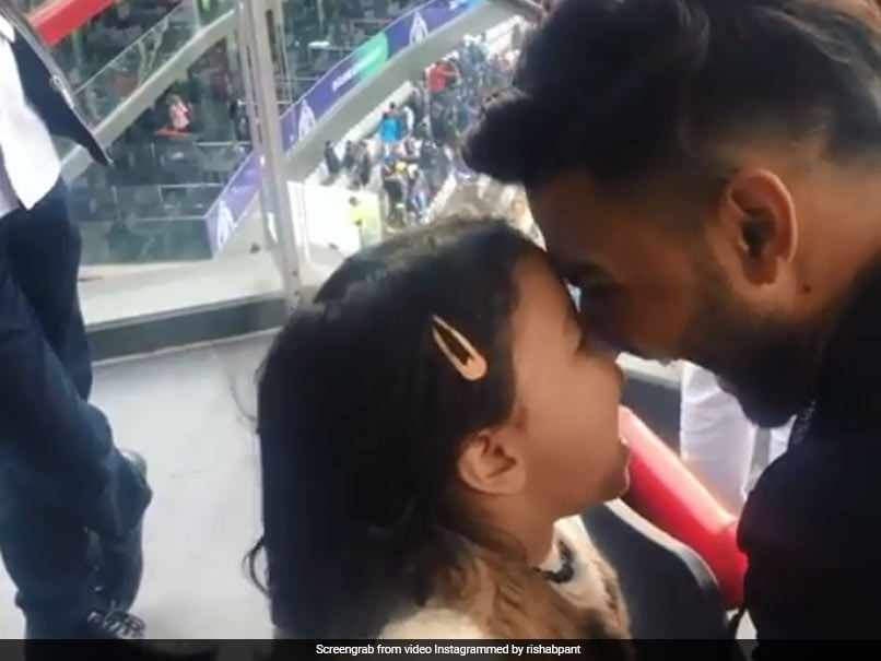 Watch: Rishabh Pant, Ziva Dhoni Play New High-Pitched Game