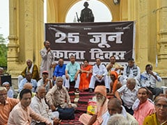 People Jailed During Emergency Observe Its 44th Anniversary In UP